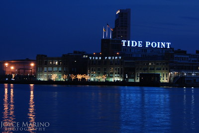 View of Tide Point from Fells Point, Inner Harbor, Baltimore