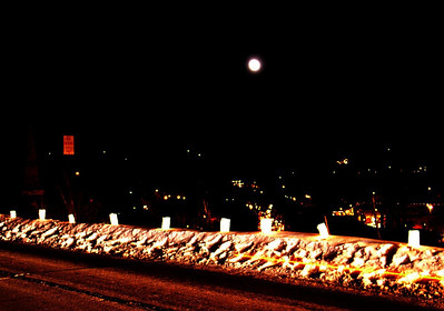 Full moon over Galena
