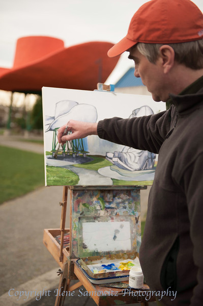 Painter at Oxbow Park