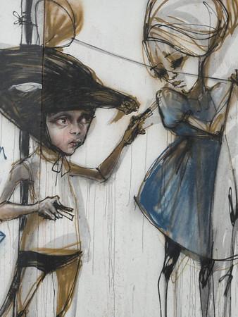 girl and boy (Herakut in Frieburg)