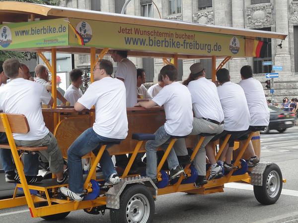 beer bike!