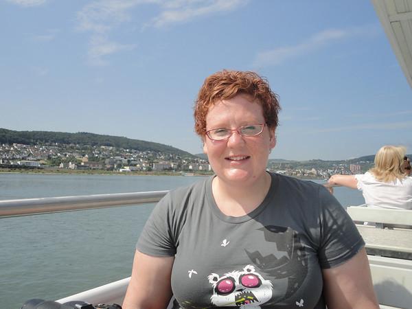 Christy on the Rhine
