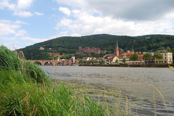 Heidelberg from the Neckar