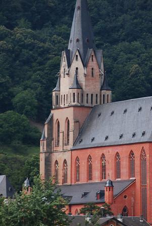 Church on the Rhine