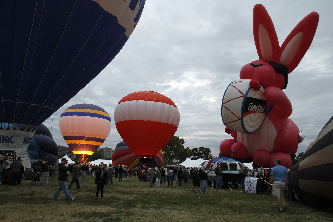 The Great Forest Park Balloon Glow 2011
