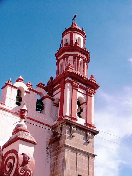 Guanauato church downtown