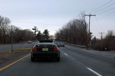 Yet again, showing how he is loosing ground on right lane traffic.