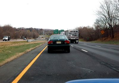 Another fellow with left lane cruising rights