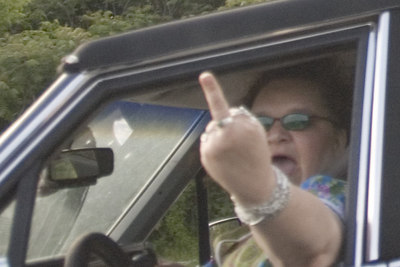 Just a couple more priceless pictures of the woman that made my 25 mi drive on Rt-1 so enjoyable!