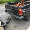 No good deed goes unrewarded - Boyce Mann's trailer and truck totaled while volunteering for helloGoodbuy thrift store 04-24-17