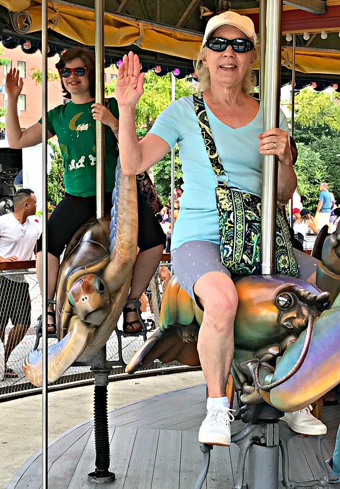 Greenway Carousel.