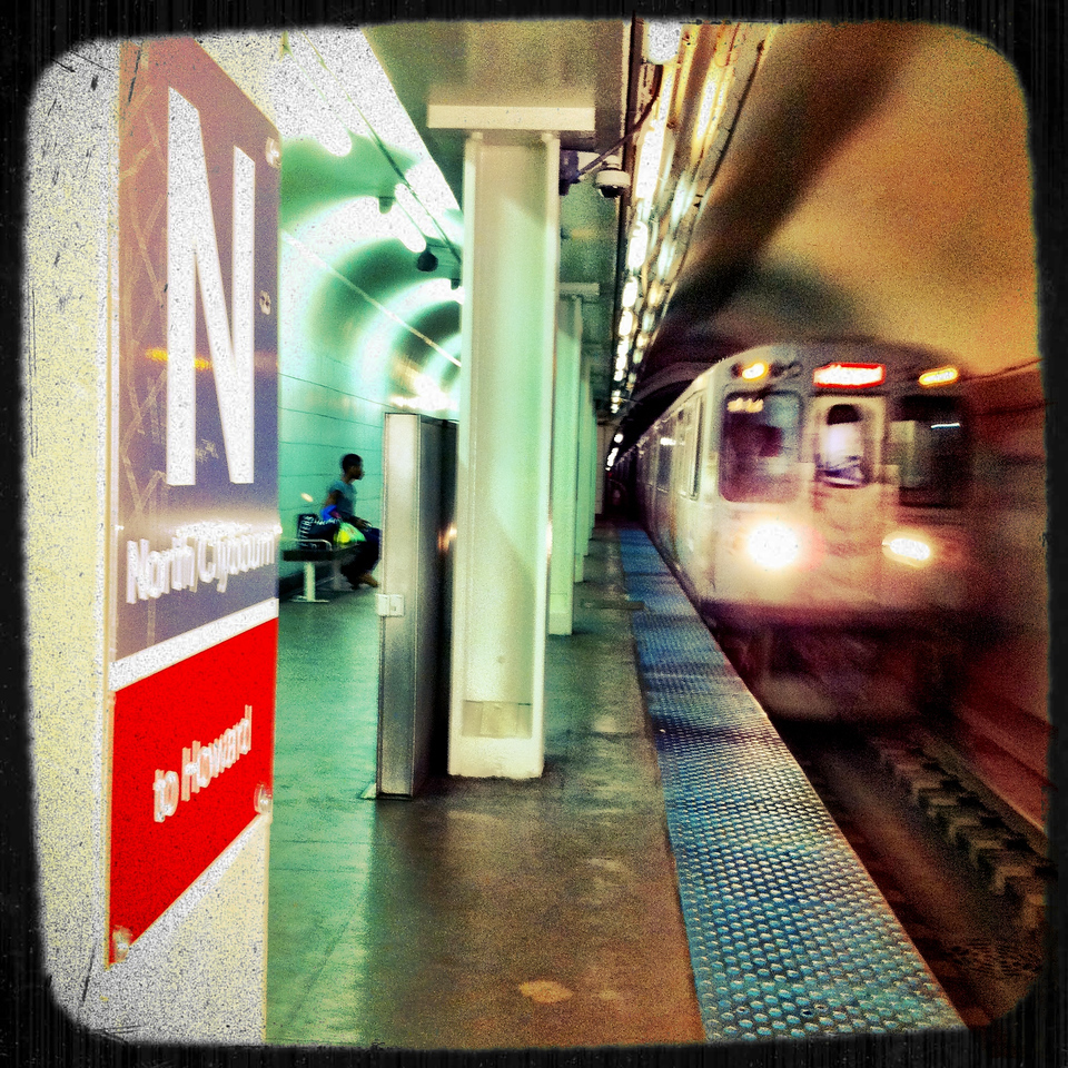 long train home (iPhoneography)