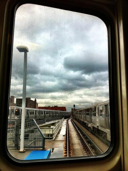 rainy day rendezvous (iPhoneography)