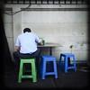 Dining Alone, Bangkok, Thailand