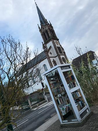 Dietwiller - Recyclage cabine téléphonique