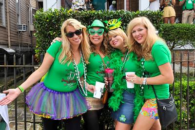 Irish Channel Parade NOLA 3/14/15