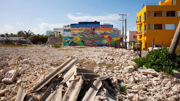 Isla Muheres Street Art