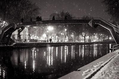 canal bridge scene