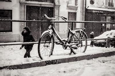 bike foreground
