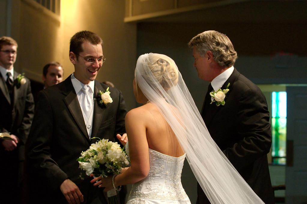 5-24-2008 Wedding of Kaela Beck to Daniel Deslatte