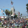 We made it all 14 miles from downtown to Venice Beach, as did thousands of others. What a great day.