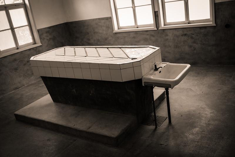 Camp de concentration du Struthof - Salle d'expérimentaion