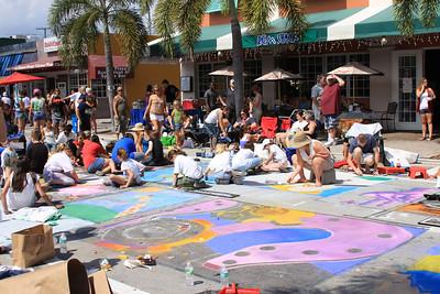 Lake Worth Street Painting Festival 2011, Lake Worth, Fla.