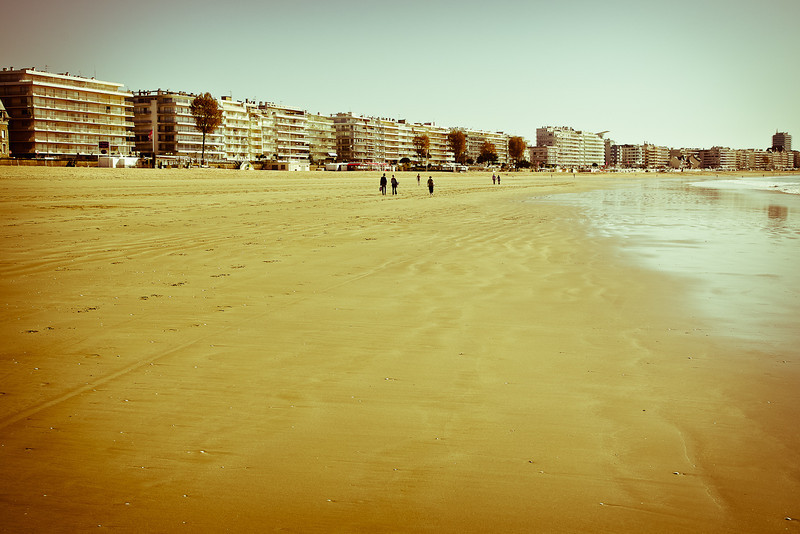 La Baule beach - Holiday memory