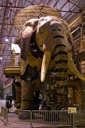 L'éléphant des Machines de l'Ile - Nantes (France)