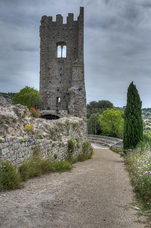 Vestiges du Chateau Féodal d'Ollioules - Toulon