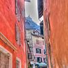 Ville fortifiée de Briançon - Hautes Alpes - France<br /> Vue sur le citadelle