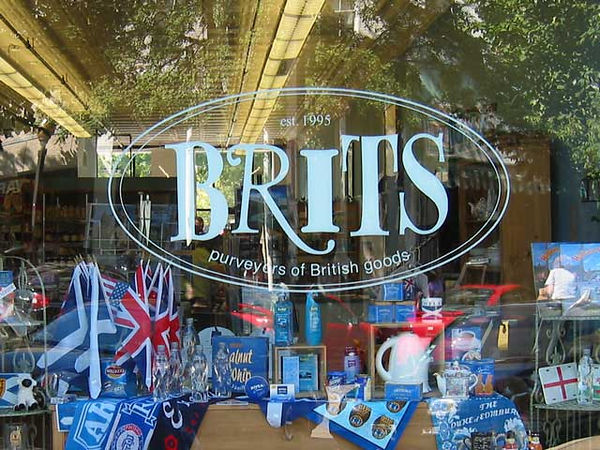 Brits - the British store in Lawrence Kansas.