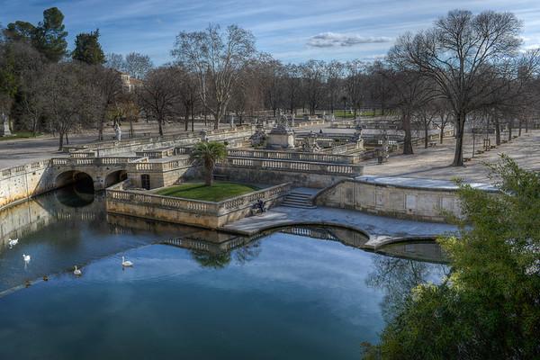 Les jardins de la Fontaine - Nimes