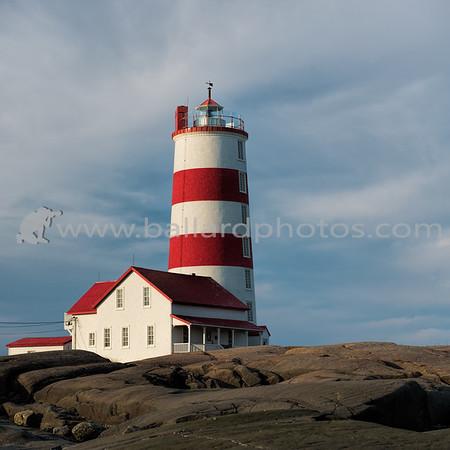 Pointe des Monts Lighthouse, Quebec, Canada