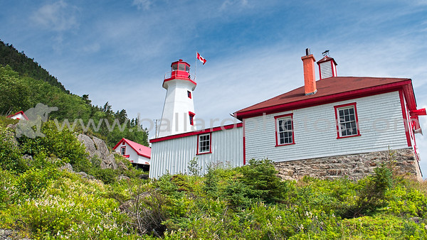 Cap au Saumon (Cape Salmon) Lighthouse, Quebec, Canada