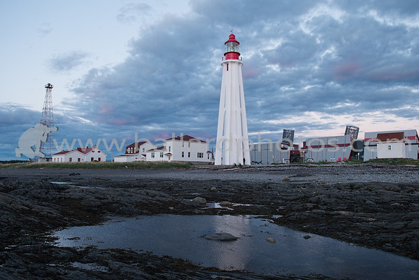Pointe-au-Père Lighthouse, Quebec, Canada