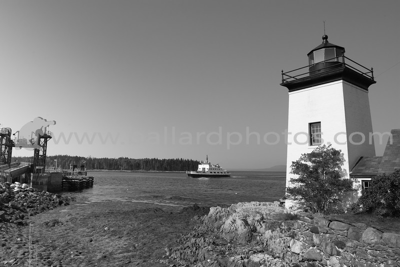 Grindel Point Light is a lighthouse on Islesboro, Maine, at the west entrance to Gilkey Harbor.