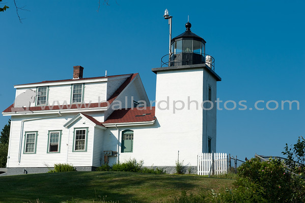 Fort Point Light,  Fort Point State Park. The park is located on a small peninsula running eastward from Cape Jellison, at the entrance to the Penobscot River.