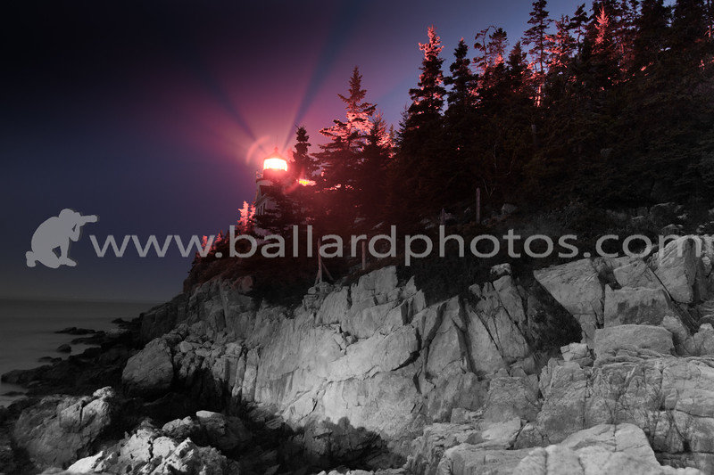 Bass Harbor Head Light is a lighthouse located within Acadia National Park on the southeast corner of Mount Desert Island, Maine