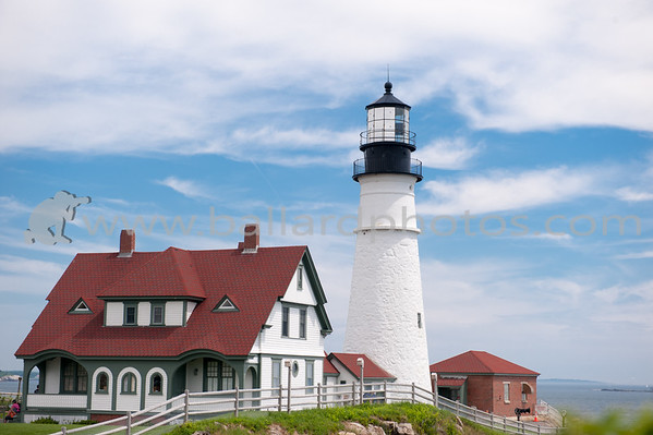 Portland Head Light is a historic lighthouse in Cape Elizabeth, Maine.