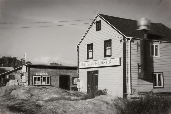 5 Islands Harbor, Georgetown Maine - Five Islands Lobster Co,