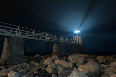 Marshall Point – Port Clyde, Maine - With the new LED light shining bright