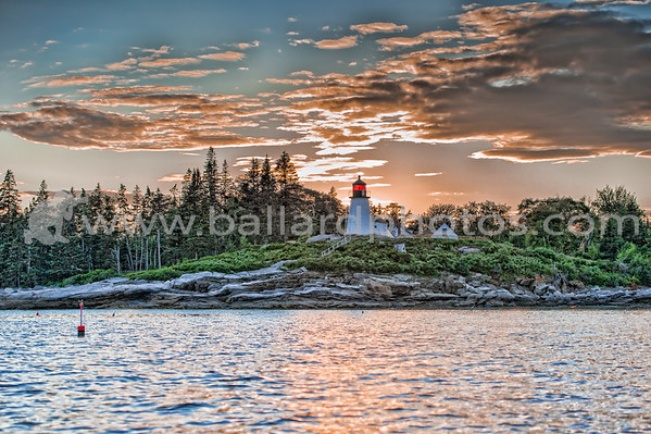 Burnt Island Lighthouse, Burnt Island, Maine