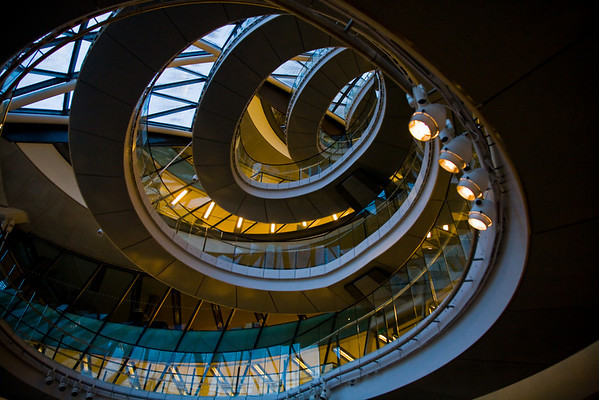 London City Hall (inside out)