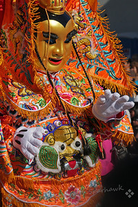 New Year's Parade ~  This was one of the costumed features of the parade.  There was so much color and noise and excitement, it was a really amazing experience.