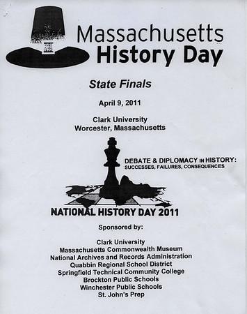 MASSACHUSETTS HISTORY DAY