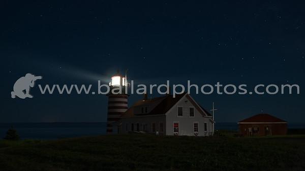 West Quoddy Head Light Station,  Lubec, Maine