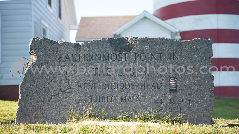 West Quoddy Head Light Station,  Lubec, Maine