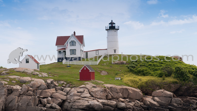 "Cape Neddick ""Nubble"" Lighthouse, York Beach Maine."