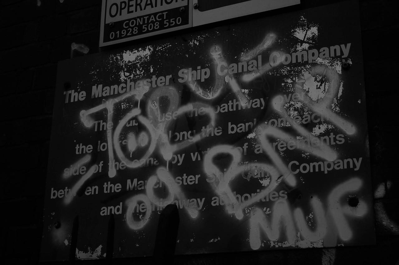 Irlam Locks Graffiti